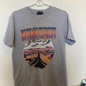 Wanderer Graphic Gray T. Shirt (Never Worn!)